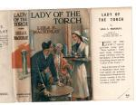 Lady of the Torch by Leila S. Mackinlay (First Edition) Ward File Copy