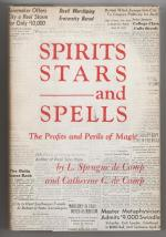 Spirits Stars and Spells: The Profits and Perils of Magic by L. Sprague de Camp Signed
