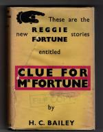 Clue For Mr Fortune by H.C. Bailey (First UK Edition) Gollancz File Copy