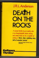 Death on the Rocks by J.R.L. Anderson (First UK Edition) Gollancz File Copy