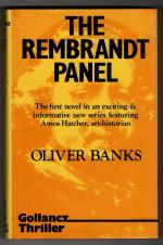 The Rembrandt Panel by Oliver Banks (First UK Edition) Gollancz File Copy