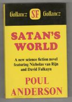 Satan's World by Poul Anderson (First UK Edition) Gollancz File Copy