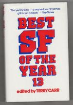 Best SF of the Year 13 by Terry Carr (Editor) Gollancz File Copy