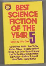 Best Science Fiction of the Year 5 by Terry Carr (Editor) Gollancz File Copy