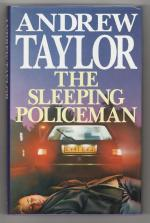 The Sleeping Policeman by Andrew Taylor (First UK Edition) Gollancz File Copy