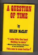 A Question of Time by Helen McCloy (First UK Edition) Gollancz File Copy