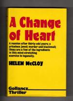 A Change of Heart by Helen McCloy (First UK Edition) Gollancz File Copy