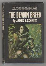 The Demon Breed by James H. Schmitz (First Hardcover)