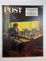 Saturday Evening Post Jan 13, 1951 George Hughes cover