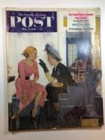 Saturday Evening Post May 12, 1951 George Hughes cover