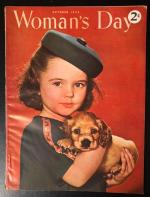 Woman's Day Oct 1944 Mead-Maddick Cover