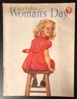 Woman's Day Nov 1950 Howell Conant Cover