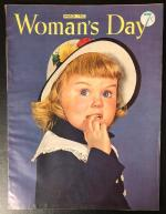 Woman's Day Mar 1952 Doris Pinney Cover