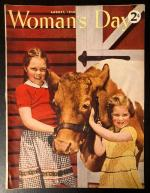 Woman's Day Aug 1943 John Meredith Cover