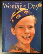 Woman's Day Mar 1944 Olis and Wright Cover