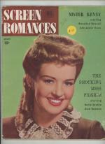 Screen Romances Aug 1946 Sister Kenny, Cover