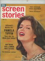 Screen Stories May 1962 Pamela Tiffin Cover