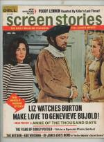 Screen Stories Jan 1970 Elizabeth Taylor Cover