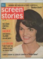 Screen Stories Jan 1965 Jacqueline Kennedy Cover