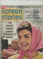 Screen Stories Dec 1962 Jackie Kennedy Cover