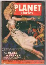 Planet Stories Fall 1950 GG Cvr Art; Ray Bradbury; Henry Kuttner + C.L. Moore