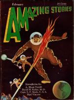 Amazing Stories Feb 1930 Leo Morey Cvr; Dr. David H. Keller; A. Hyatt Verrill