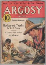 Argosy Aug 27 1932 Paul Stahr Cvr; Austin Hall; H. Bedford Jones; Thomson Burtis