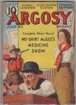 Argosy Jul 23 1938 Rudolph Belarski Cvr; Frank R. Pierce; Murray Leinster
