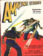 Amazing Stories Sep 1931 E.E. Smith- Spacehounds of IPC, Ray Gallum, Morey cover,