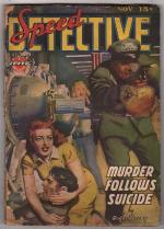 Speed Detective November 1943 Ward GGA, Robert Leslie Bellem, Dan Turner