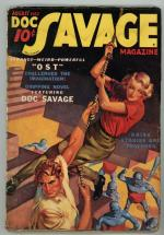 Doc Savage  Aug 1937