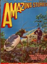 Amazing Stories Jun 1929 Last Frank R. Paul Cvr; Jules Verne; Stanton A. Coblentz
