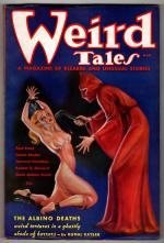Weird Tales Mar 1936 Brundage bondage whipping Cvr; RE Howard; C.A. Smith; Kuttner