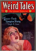 Weird Tales May 1932 C. C. Senf Cvr; RE Howard; 1st Weird Tales by Hugh B. Cave