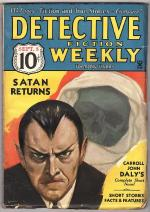 Detective Fiction Weekly Sep 8, 1934 Classic Skull cover, C.J. Daly