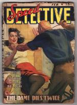 Speed Detective Feb 1943 H.J. Ward GGA, Bellem, E. Hoffman Price, Roger Torrey