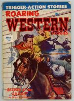 Roaring Western May 1953 Single Issue Pulp Title