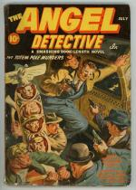The Angel Detective Jul 1941 FIRST; SCARCE; Saunders Cvr