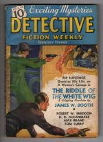 Detective Fiction Weekly Nov 14 1936 Woolrich; Brand; Allen; Blassingame