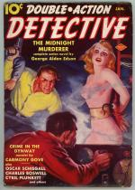 Double Action Detective Jan 1939 GGA Bondage Cover Art