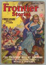 Frontier Stories 1948 Spring Sharp Shooting GG Cover Art