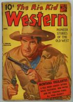 Rio Kid Western Dec 1941 Tom Curry; Overholser
