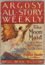 Argosy May 5 1923 Burroughs - The Moon Maid pt. 1