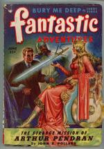 Fantastic Adventures Jun 1944 GGA Arthurian Inspired Cover Art