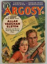 Argosy Jan 21 1939 Burroughs - The Synthetic Men of Mars 3/6; Woolrich