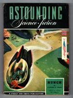Astounding Science Fiction Jul 1943 Timmins Cover; CD Simack; Leiber; van Vogt