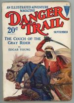 Danger Trail Sep 1928 SF Soare Cover Art