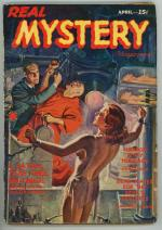 Real Mystery Magazine Apr 1940 FIRST; Wild GGA Bondage Cover ; SCARCE