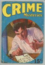 Crime Mysteries Nov 1927 SCARCE title