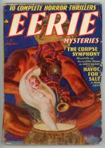 Eerie Mysteries Apr 1938 Classic Saunders GGA Cover